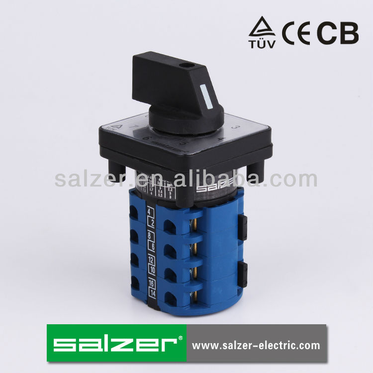 Salzer (TUV,CE and CB Approved)automatic power changeover switch SA16 9-4