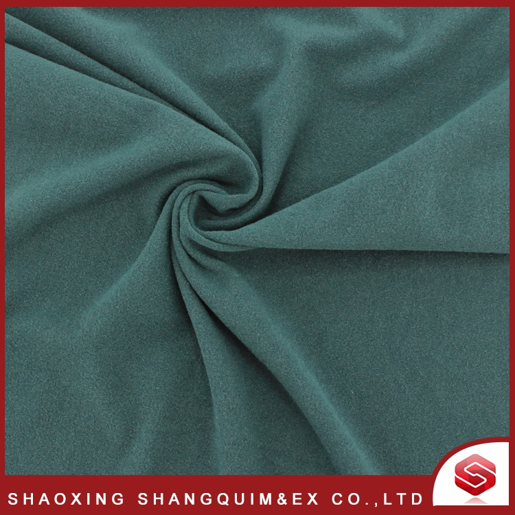High quality cheap knit one side brushed polar fleece fabric