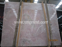 Purple Onyx slabs for bar tops and table tops, light pink onyx marble slab