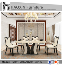 China supplier ablibaba express supported 2016 hot sell dining room <strong>furniture</strong>( dining chair and dining table)