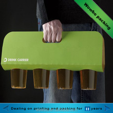 strong hot drink cup aper holder/carrier for take out