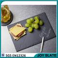 slate cheese board with knives tools rectangle black slate plate for kitchen