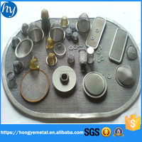 Microns Porous Stainless Steel Wire Sintered Water Mesh Filters
