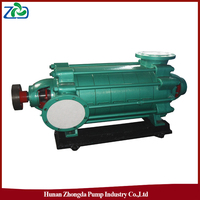 ZHONGDA Brand MD Type High Pressure Mine Multistage Wear Ersistant Centrifugal Submersible Water Pump