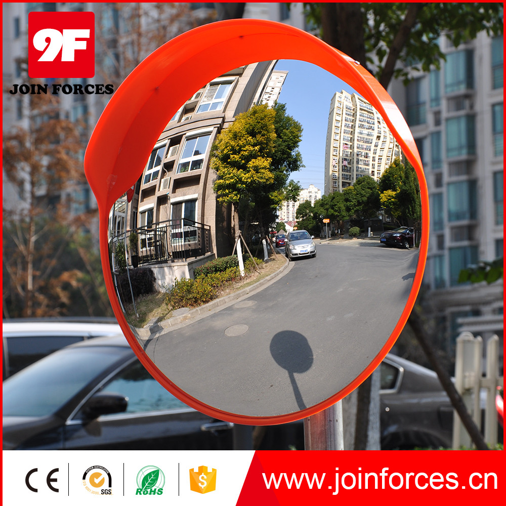 80cm Outdoor PC Convex Mirror Road Safety Reflective Mirror