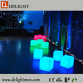 led cube furniture sale/ cube chair with table/ led luxury bistro chair