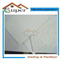 Hot Sales PVC Laminated Gypsum Board Ceiling Tiles For Bathroom And Bedroom