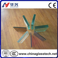 CE CCC ISO BV approved cut to size factory supply laminated glass sheet price