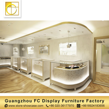 Shopping mall glass showcase jewelry kiosk jewellery shop furniture jewellery showroom furniture design