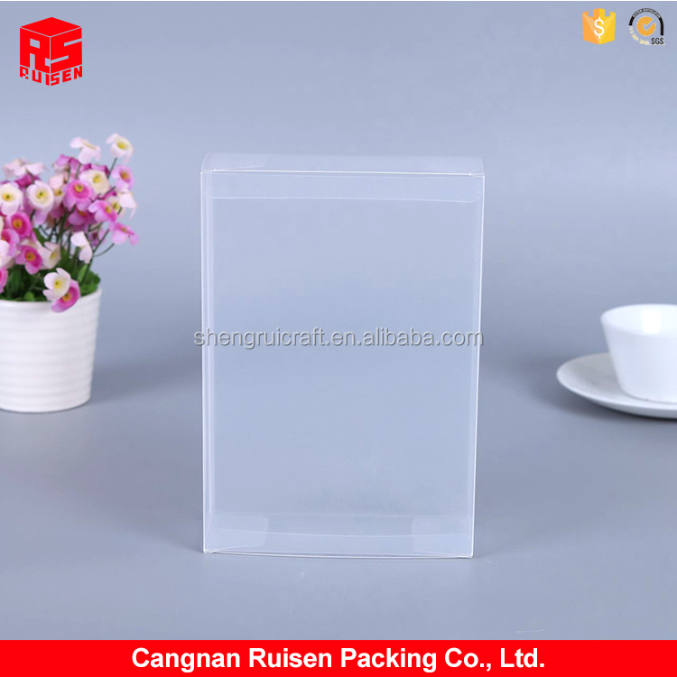Newest selling PP plastic square transparent perfumed soap packaging gift box