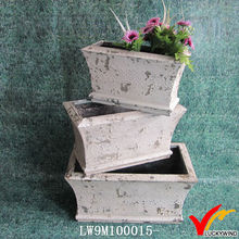 shabby chic cast iron ornamental garden plant pots