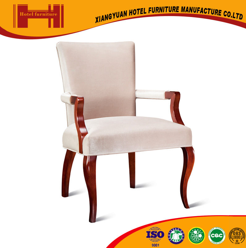 XY wholesale chinese modern sytle cross back armrest bent wood leather restaurant dining chair