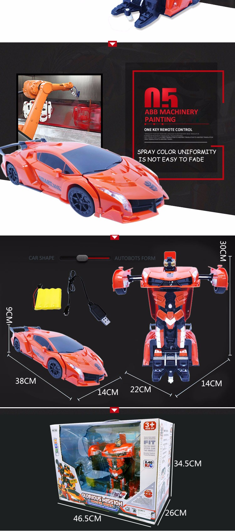 Hot Selling 2017 Super Robot Toy for Kids