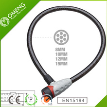 hot sale spiral bike lock,safety chain lock for motorcycle,long years development in china