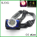 Rotatable 3 Modes 10 LED Headlamp for Running Camping Working