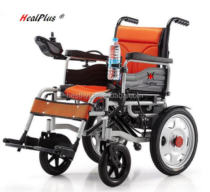 2016 Lower Price Light Weight Foldable Automated Power Electric Wheelchair