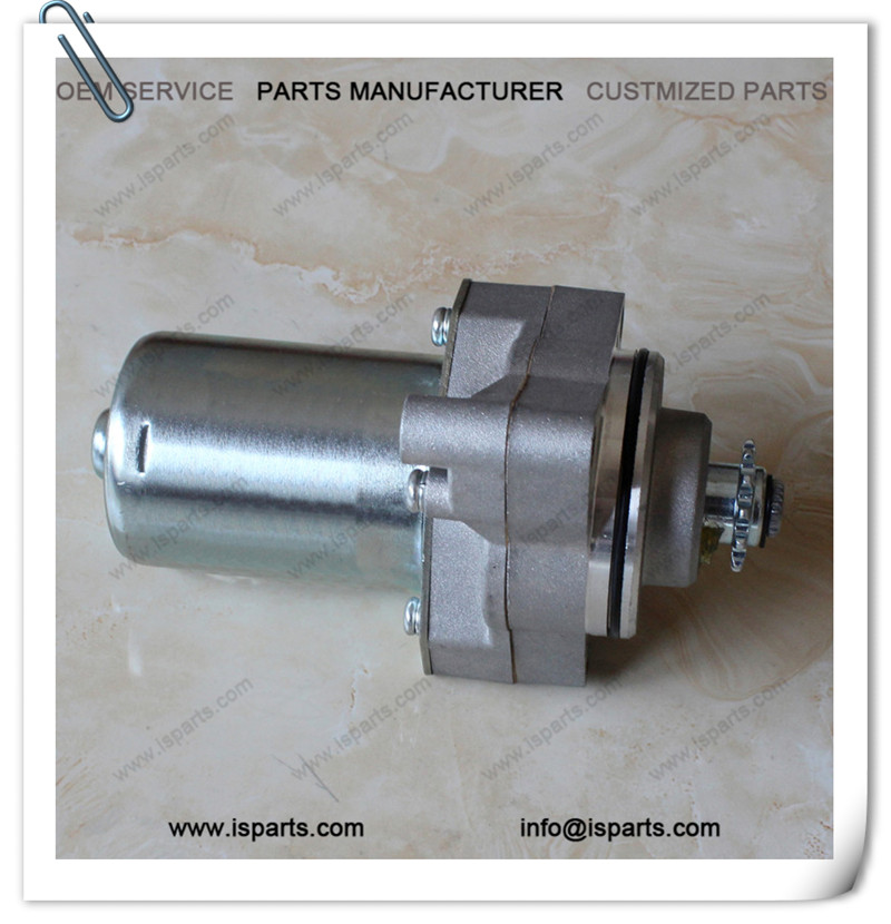 Wholesale Scooter Parts DY100 12T starter motor