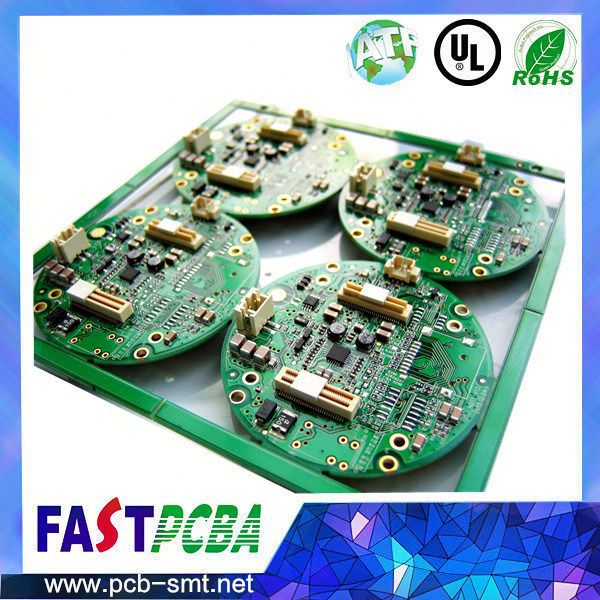 ROHS 94v0 pcb board assembly manufacturer with rigid led driver circuit board
