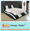Factory bedroom furniture simple double bed