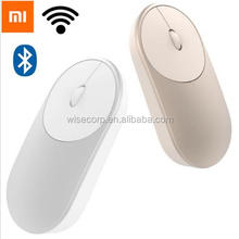 Original Xiaomi Mouse Aluminium Alloy ABS Material Support 2.4Ghz Wifi Bluetooth 4.0 For Windows 8 Win10 Laptop Computer