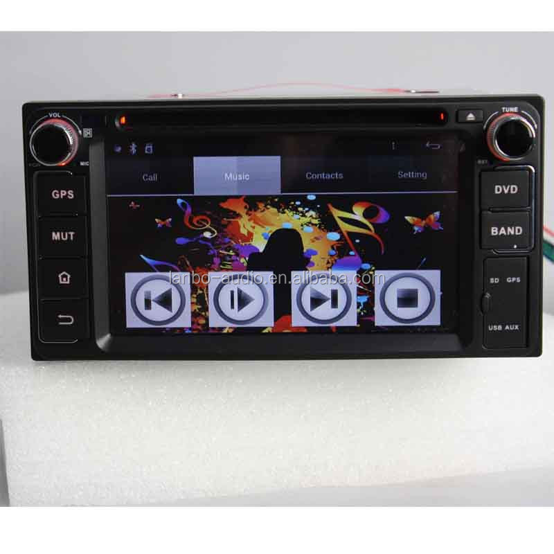 Toyota universal 2 din car dvd player with pure android system