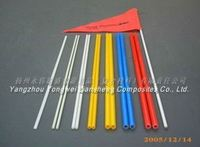 Electrical 4.5Mm Pultrusion Solid Frp Fiberglass Rod With High Quality