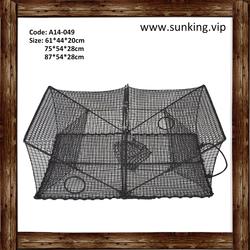 A14-049 Lobster Nylon Strong Strength Easy to Carry Fishing Trap Net