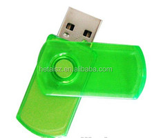waterproof 8G 16G 32G 64G creative USB flash drive rotating pen drive lovely gifts usb 2.0memory stick MINI flash drive