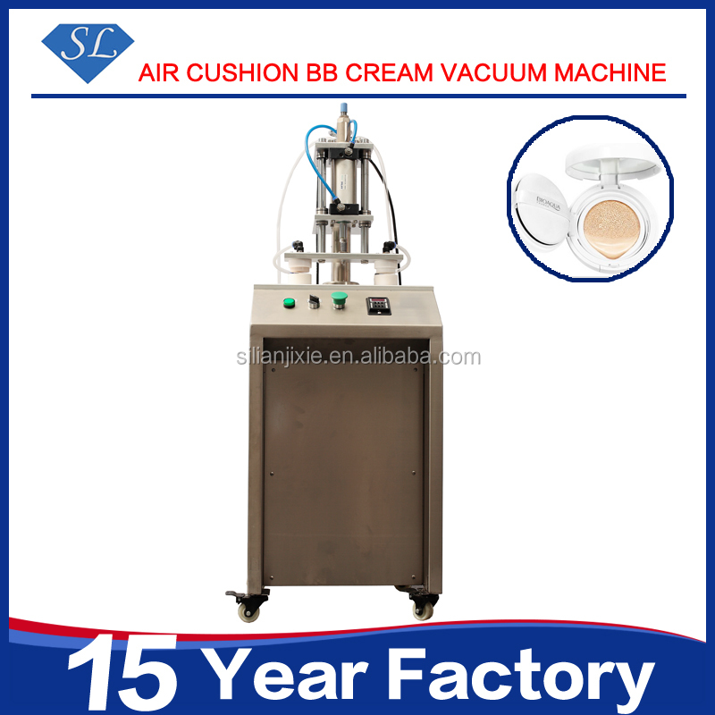 Hotsale high speed cosmetic BB cream lotion sponge filling machine