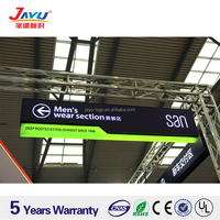 High quality Aluminum Hanging wayfinding directional sign signage,Curved Advertising Sign
