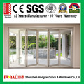 North America Style HB60 series Aluminum Bi-fold Door comply with CE certificate from China factory