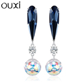 Competitive price china special colored earring chinese pearl stud earrings