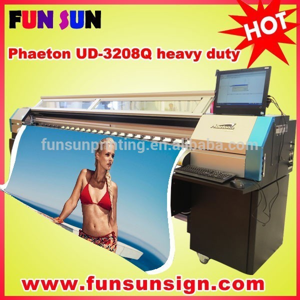Phaeton UD-3208Q flex banner digital print machine(10ft,heavy duty)
