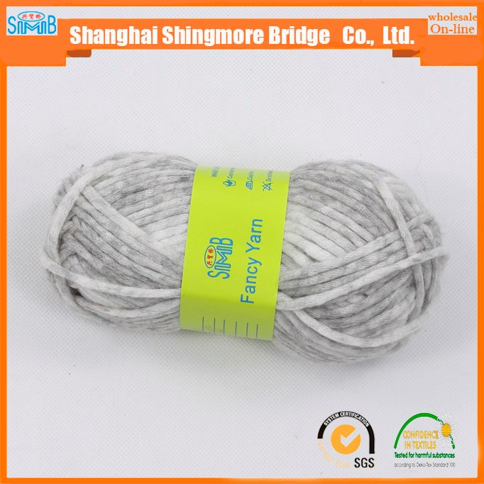 shanghai clothing sale free sample with high quality scarf soft air knitting wool customized color for knitting