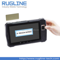 7 inch Android outdoor Tablet, IP65 Rugged Tablet with RFID Barcode Fingerprint(RT720)
