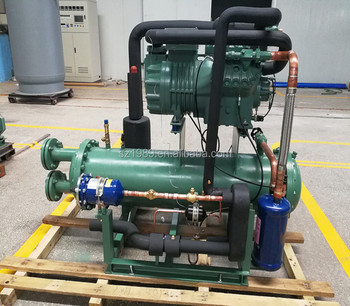 Water Cooled Condensing Units with Bitzer Single Stage compressor