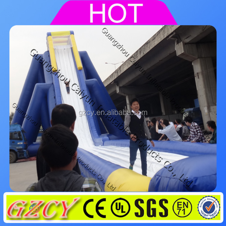 Lake inflatable water slides/commercial water slide