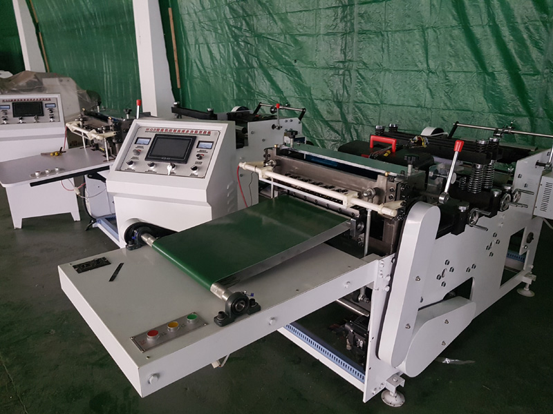 ZQD350 PVC Shrink Sleeve Label Cutting Machine