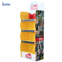 Hot Selling Cardboard T Shirt Display Stand, Customized Cardboard Display For T Shirt