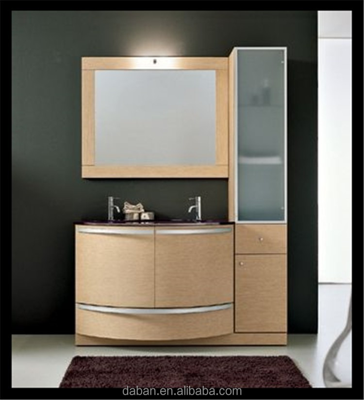 classic bathroom wall mounted makeup cabinet in bathroom