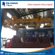 big powerful electromagnet, 20ton electromagnetic lifting device, battery electro permanent lifting magnets
