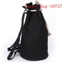 Latest Designer Canvas Plain Pattern Drawstring Travel Bag