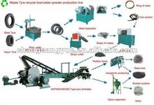 Recycling Used Tire Machine/Reclaimed Rubber Powder Machine