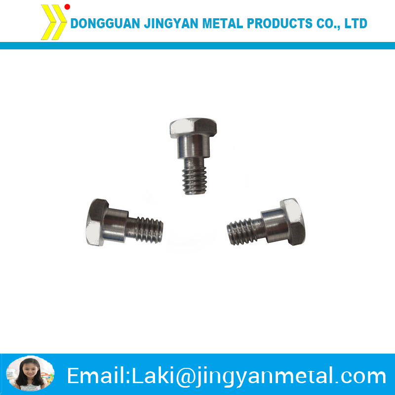 China supplier non standard customized hex shoulder bolt