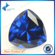 Blue113# Trillion Shape Spinel Gemstone