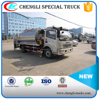 shock price dongfeng 4*2 euro 3 3000l 3 tons mini Asphalt Paving Truck