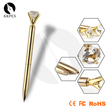 Shibell Office business high quality luxury gold diamond metal gift pen