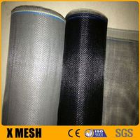 18*14 Black fiberglass insect screen white for sliding window screen and doors