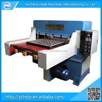 single side blister die cutting machine with automatic feeding table