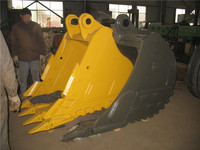 OEM quality best quality Volvo EC360 2.0M3 Digger Rock Bucket